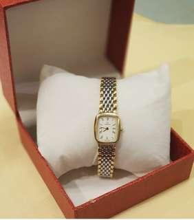 OMEGA DE VILLE LADIES TWO TONE ❤BIG SALE P39k ONLY❤ With generic box Swipe for detailed pics Cash/card/layaway accepted