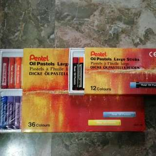 Pentel Oil Pastels Sticks