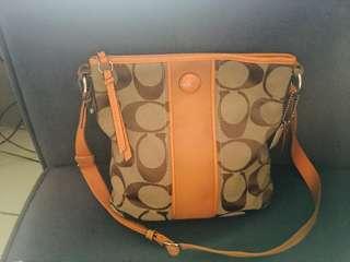AUTHENTIC COACH SLING BAG (Rare Color)