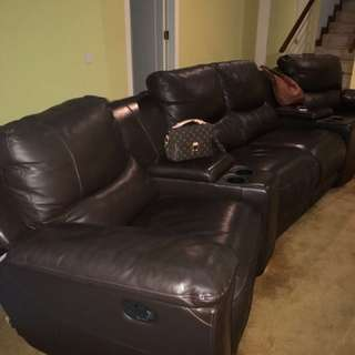 Sofa 4 Seater home Theater
