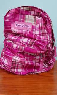 Jansport Backpack (Pink)