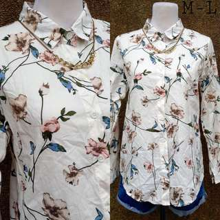 Soft Floral Polo