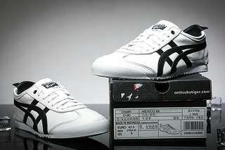 Authentic Onitsuka Tiger Mexico 66 White/Black
