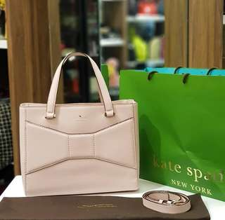 BRAND NEW KATE SPADE BLUSH PINK TWO WAY BAG ❤️BIG SALE P11,500 ONLY❤️ With dustbag and paperbag Swipe for detailed pics