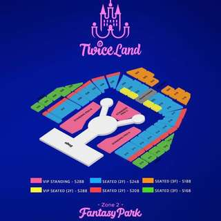[WTS] Twiceland Fantasy Park Tickets