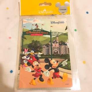 香港迪士尼樂園明信片3張Hong Kong Disneyland postcards