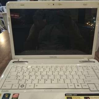 Toshiba L645 buat mudik