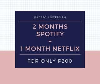 Spotify + Netflix
