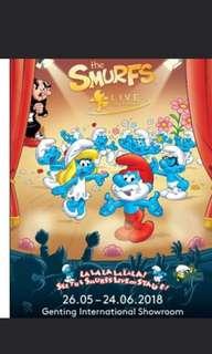 Smurfs live on genting