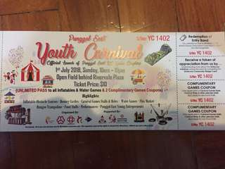 Punggol East Youth Carnival Ticket