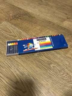 Staedtler 正版顏色筆,全新未用過(25色)