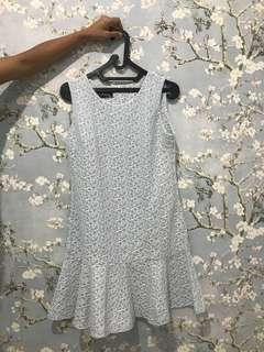 Dress import BKK biru