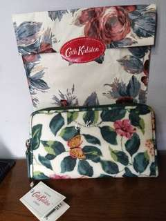 Original cath kidston wallwt with receipt