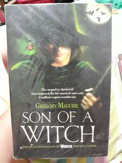 Son of a witch by gregory maguire (books for sale)