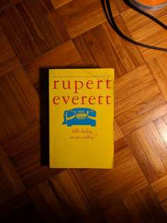ello Darling, Are You Working? Paperback – March 1, 1994 by Rupret Everett