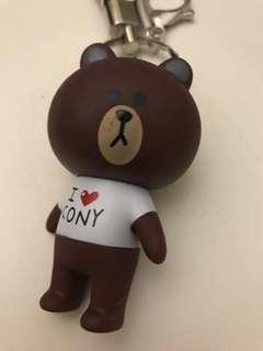 小熊匙扣吊飾 Bear bear Keychain,全新免運費 100% new, free local postage