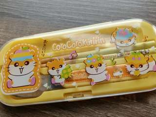 Sanrio ck鼠 Corocorokuririn餐具套裝