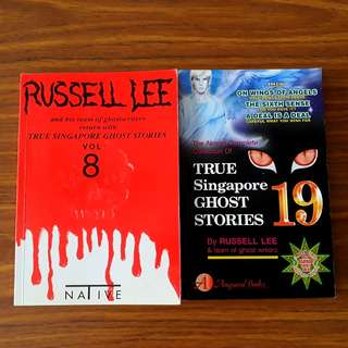2 for $9: True Singapore Ghost Stories Volume 8 & Volume 19
