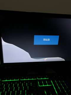 Cracked Acer LED Monitor K2 Series