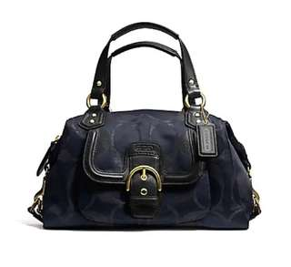 Auth Coach Campbell Satchel 2way michael kors Kate spade