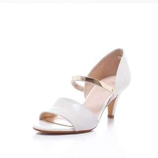 KOKKO露趾高跟鞋魚口鞋