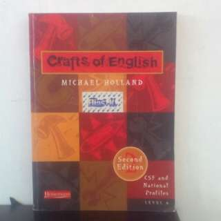 Buku Crafts Of English karya Michael Holland