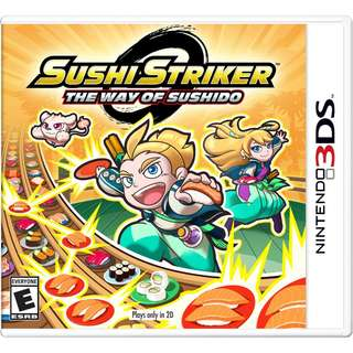 [NEW NOT USED] 3DS Sushi Striker: The Way of Sushido Nintendo Puzzle Games