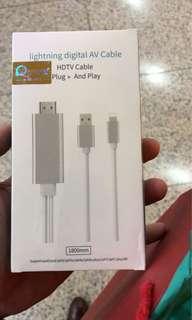 Iphone HDMI 駁電視