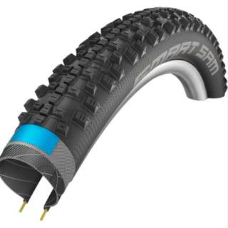 "🆕! Schwalbe 27.5 X 2.6 Smart Sam Dual Compound Wired MTB Tyres - 27.5+ Plus / 2.6"" / 27.5""+ Boost   ( PRICE FOR 2 TYRES ) #OK"