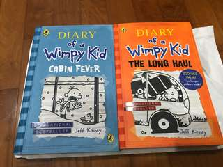 Brand New Diary of a wimpy kid Book