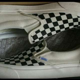 Dijual vans slip on og checkerboard