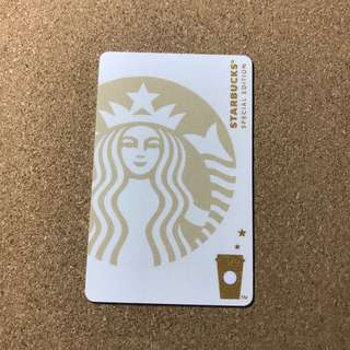 🚚 China Starbucks White Siren Card