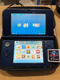 Nintendo 3DS XL + sky3ds+ can download all 3ds games