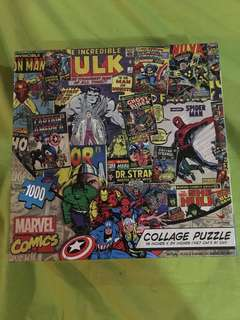 Marvel 1000 pcs collage puzzle