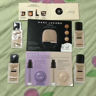 Make up bundle (chanel, marc jacobs, becca)
