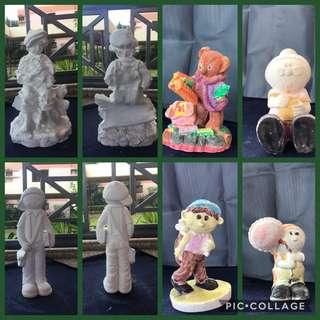 Plaster Figurines