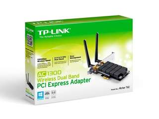 TP-Link AC1300 Wireless Dual Band PCI-E Adaptor
