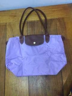 Authentic Longchamp Le Pliage Lavender