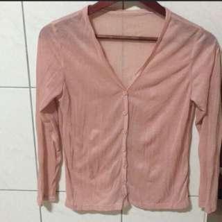 粉色小外套
