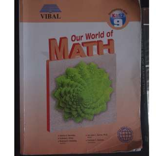 Vibal: Our World of Math 9