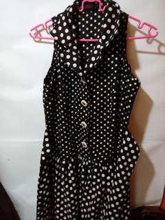 Polkadot dress plus size