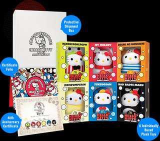Hello Kitty 40th Anniversary set
