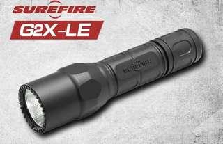 Surefire G2X LE Flashlight, 電筒