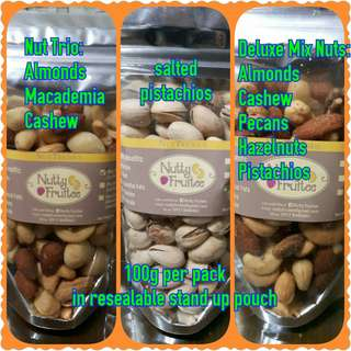 Roasted and salted mix nuts