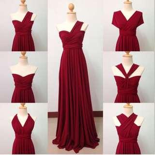 Infinity dress (red)