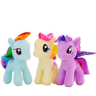 6pcs My Little Pony soft toy set