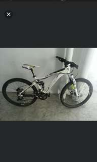 Marin full suspension mtb