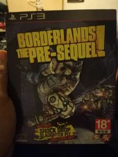 Borderlands The Pre sequel for PS3