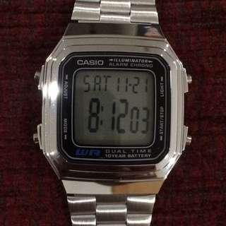 Authentic Retro Classic Casio Watch