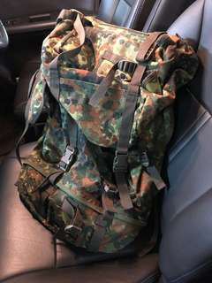 迷彩背囊 Camoflage backpack